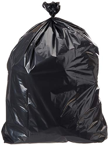 AmazonCommercial 42 Gallon Heavy Duty Contractor Bags - 2 MIL - 75 Count