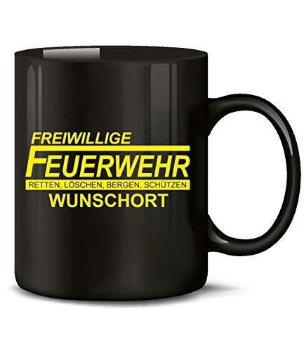 Golebros Freiwillige Feuerwehr Retten Löschen Bergen Schützen Wunschort Tasse Becher Kaffeetasse Kaffeebecher Geschenke Geburtstag Geschenkidee Geschenkartikel