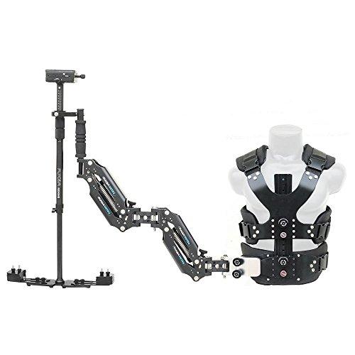 FLYCAM Vista-II Arm Vest with Redking Stabilizer Steadycam | Dual Arm Body Mount Stabilization System for DSLR Video Canon Nikon Sony Film Cinema Camera Camcorders up to 7kg/15.4lb +Bag (FLCM-VSTA-RK)