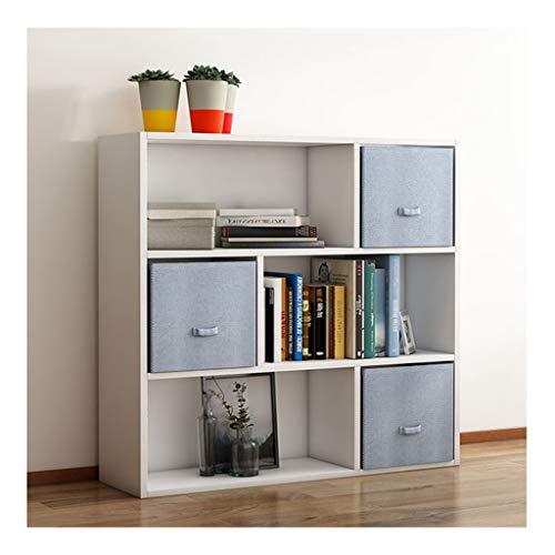 WYZ - stoffen ladekast, boekenkast, magazijn, decoratie voor woonkamer, slaapkamer, hoge dichtheid, 6 kleuren, 74 x 24 x 80 cm