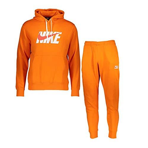 Nike Sportswear heren trainingspak oranje XS