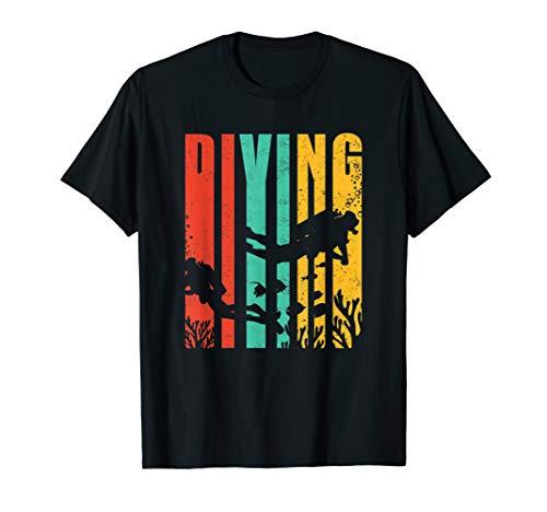 Diving DIVE Tauchen Divemaster Diver Unter Wasser Taucher T-Shirt
