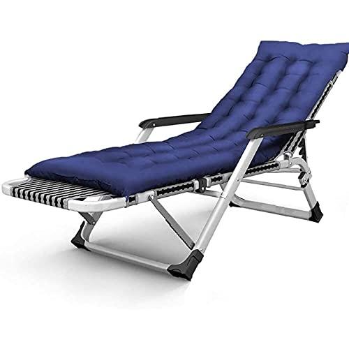 TabloKanvas Tumbona de playa, sillón reclinable de jardín, oficina, comedor, balcón, terraza, playa, camping, tumbona, sofá (color: D, tamaño: 65 x 15 x 96 cm)