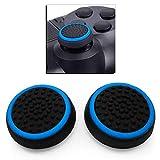 Ociodual 2X Poignée Capuchon de Protection Poignées Pouce Bleu Compatible avec Manette Sony...