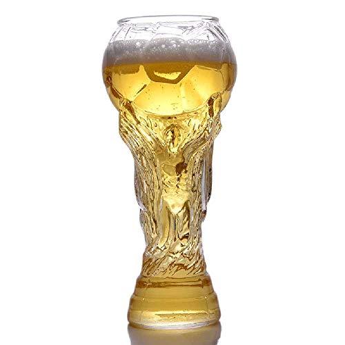 maofan Kreative Herkules Bier-Cup, World Cup Fußball-Cup, Bar Bier Glas 450ml