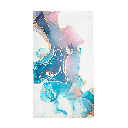 Fansu Strandtücher Mikrofaser Schnelltrocknend, 3D Marmor Drucken Tragbar Sand Proof Ultraleicht Strand-Badetuch Ideal als Strandtuch, Reisetuch, Saunatuch, Duschtuch, Sport (Aquarell,150 * 180cm)