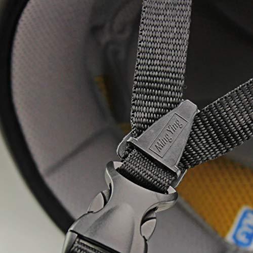 Unisex Winddichter Fahrradhelm für Erwachsene, Mountainbike, Outdoor-Sicherheitshelm Free Size Schwarz - 6