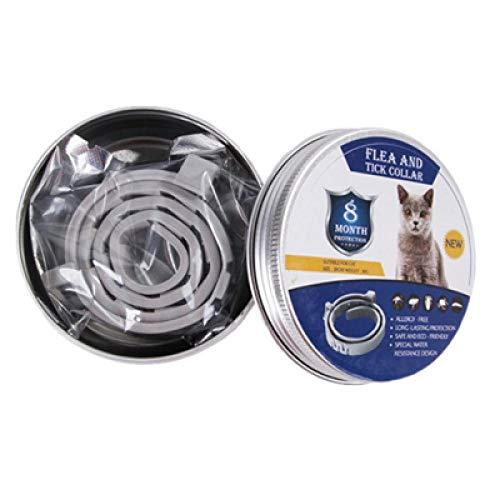 Anti Teek Quick Kill Verwijderen Huisdier Beschermen Rubber Ketting Vlooien Muggen Killer Pet Hond Kat Vlooienband-met in can_S (38 CM)