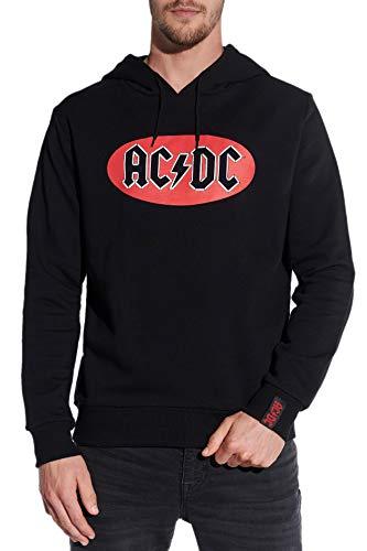 Course Herren Hoodie Original AC/DC Druck ACDC Kapuzenpullover Sweatshirt Kapuze
