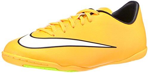 Nike Unisex-Kinder Jr. Mercurial Victory V IC Fußballschuhe, Orange (Laser Orange/White-Black-Volt 800), 28 EU