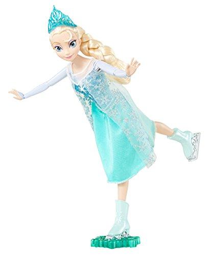 Mattel Disney Princess CBC63 - Die Eiskönigin Eisläuferin Elsa, Puppe