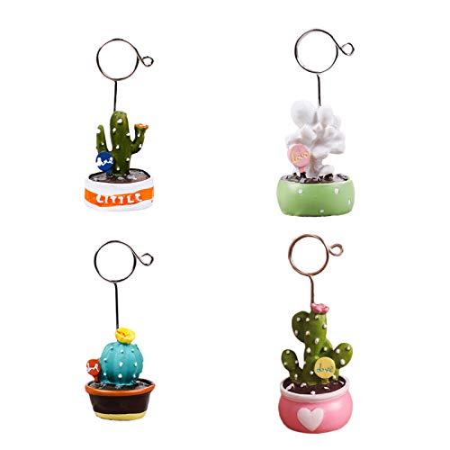 Grafts - Soporte para tarjetas de decoración, diseño de cactus