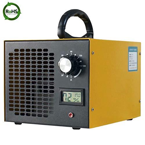 Generador de ozono comercial, quita olores 10000 mg/h, purificador de aire de ozono industrial, dispositivo de ozono para habitaciones, humo, mascotas y coches