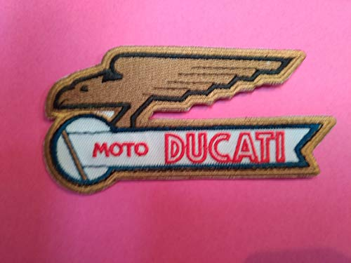 BLUE HAWAI A438 Parche Escudo Ducati Logo Vintage
