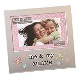 """Shop Inc. - Cornice portafoto in alluminio spazzolato, """"Me and My Auntie"""" (io e mia zia), collezione Juliana"""