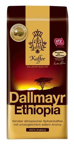 Dallmayr Kaffee Ethiopia 500g Kaffeebohnen - 6er Pack (6x 500g)