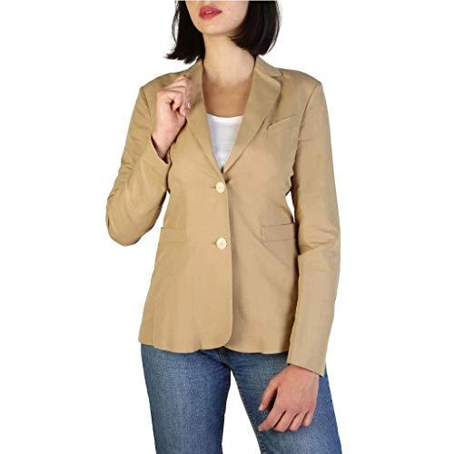 Armani Jeans Chaqueta de Traje 3Y5G44_5NYNZ Mujer Color: Marrón Talla: 42