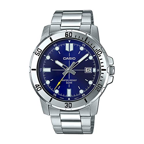 Casio A216 Enticer Men's ( MTP-1243D-1AVDF ) Analog Watch - For Men