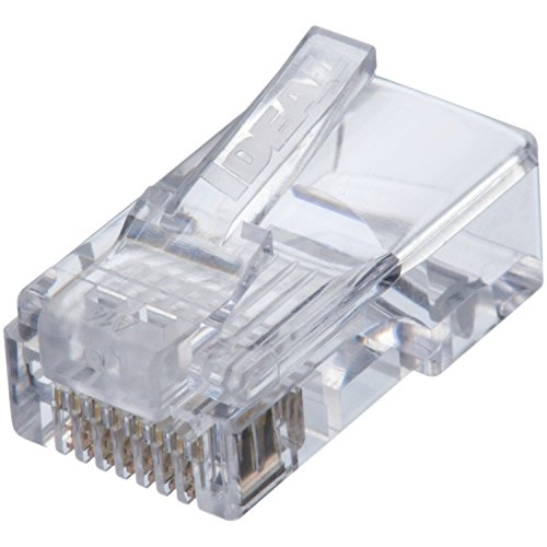 IDEAL 85-371 CAT5e Feed-Thru RJ-45 Modular Plugs 50/Card