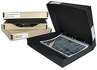 "Archival Methods Three Ring Binder Box 12.25x13.25x1.5"", Tan"