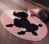 Kit Gancio di Chiusura Tappeto da Ricamo Cuscino a Punto Croce Federa per Cuscino Kit Chiusura a Gancio Latch Hook Kit,Color Canvas,50cm/20inch
