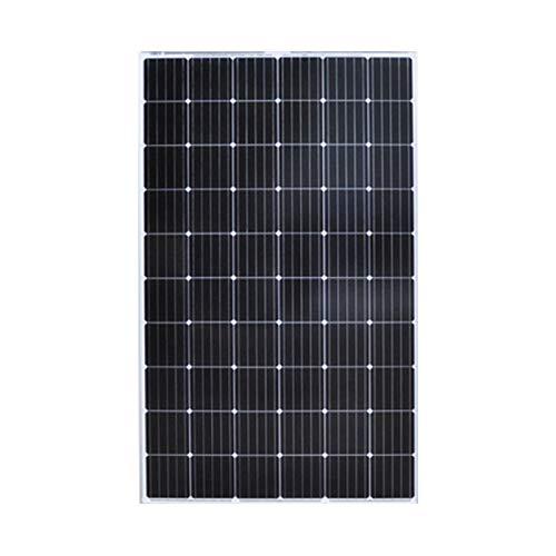 YILANJUN 250W 24V Monocristalino Módulo Solar, Ahorro Energético, Panel Solar, Módulos Fotovoltaicos, para Autocaravanas, Casa de Jardín, Barco