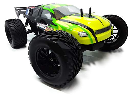 VRX Truggy XXX Sword off Road 1/10 con Telaio in Metallo Motore a spazzole RC-550 Radio 2.4ghz RTR 4WD