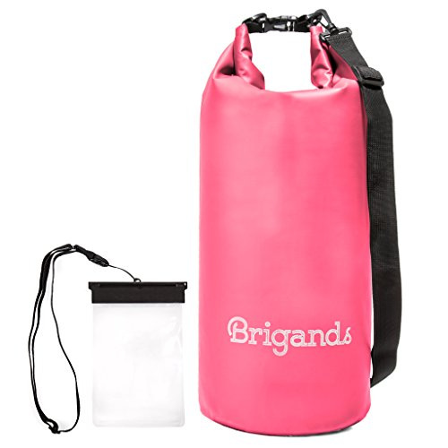 Brigands Waterproof Dry Bag with Phone Case, 20 Liter