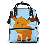 Shichangwei Diaper Bag Backpack Travel Bag Large Multifunction Waterproof Little Deer Stylish and Durable Nappy Bag for Baby Care School Backpack