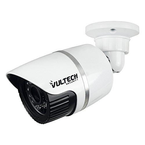VulTech Security CM-BU96IP-POE Telecamera, Bullet, IP, 1/2.7', 1.3 mpx, 960 p, 3.6 mm, LED IR, 24 Pezzi, 25 m, Bianco