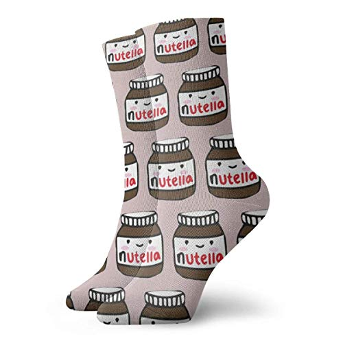 Love girl Unisex Crew Socken Delicious Nutella Fashion Neuheit Dry Sportsocken Strümpfe 30cm