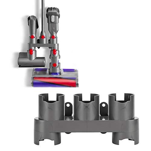 Soporte para Accesorios de Montaje en Pared Organizador de Accesorios para aspiradora Soporte para Accesorios para baño Premium ABS Resistente al Desgaste para el hogar