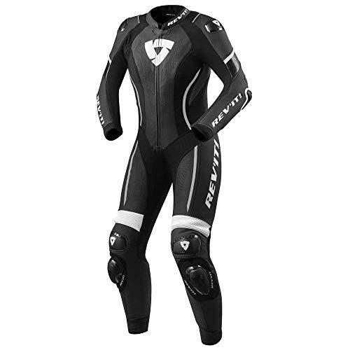 Revit Xena 3 1-Teiler Damen Motorrad Lederkombi Schwarz/Weiß 42