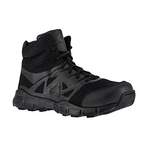 Reebok Men's Dauntless Tactical Side-Zip Work Boot Black 11 D(M) US