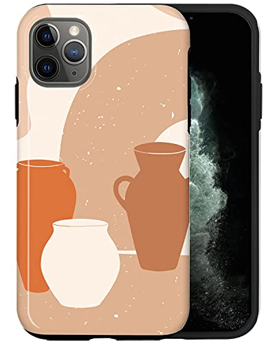 JUSPHY - Funda para teléfono compatible con iPhone 11 Pro, platos sin costuras MA047_1, diseño de moda, accesorios de teléfono