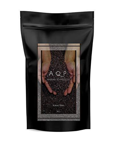 Nibs de Cacao (1kg), Esencia Natural del Chocolate - Sin Azucares Anadidos - Producto Vegano, 100% Natural de la Amazonia Peruana