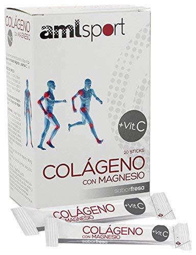 ANA MARIA LAJUSTICIA COLAGENO con MAGNESIO y Vit.C fresa 20sti A by...