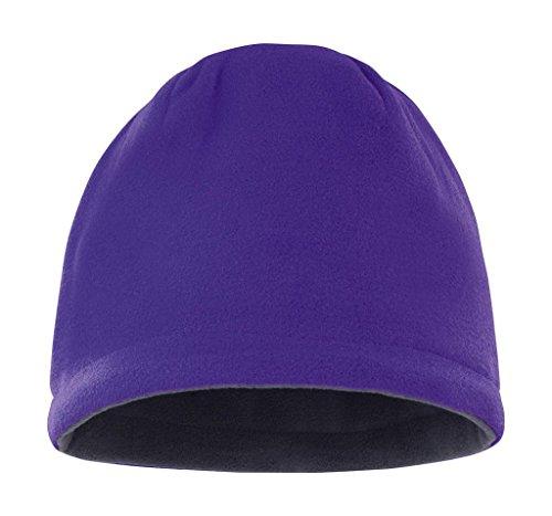 Result R374x Bonnet réversible Taille Unique Violet/Gris Anthracite
