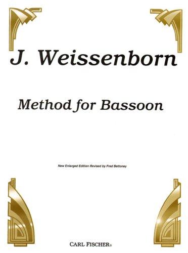 CU96 - Weissenborn Method for Bassoon New Enlarged Edition