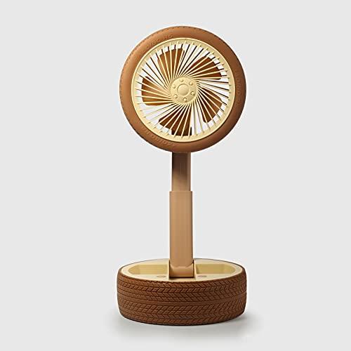 JZLPY Ventilador De Mesa con USB, Ideal para El Escritorio Compatible para La Oficina Hogar Dormitorio Viajes