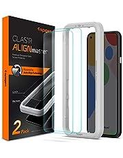Spigen AlignMaster Tempered Glass Screen Guard for Pixel 4a - 2 Pack