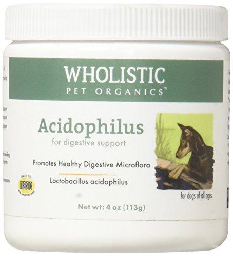 Wholistic Pet Organics Acidophilus Supplement, 4 oz