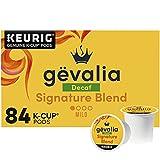 Gevalia Signature Blend Bold Decaf K-Cup Coffee Pods (84 ct Box)