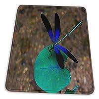 マウスパッド ゲーミングマウスパット 黒と青のトンボ デスクマット 超大判 高級感 おしゃれ 耐久性が良い 滑り止めゴム底 ゲーミングなど適用 マウスの精密度を上がる 防水設計 複数サイズ
