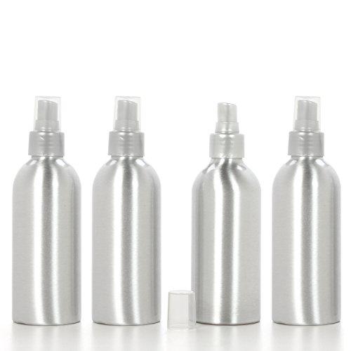 Hosley flacone spray con nebulizzatore (vuota), set di 4, 6oz. Ideale per diffusori di oli essenziali, fai da te, progetti creativi, matrimonio, party O5.