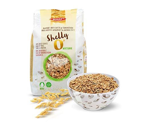 3er Pack Shelly'O Nature I Weltneuheit - knusprige Haferflocken I für bio-zertifizierte Müsli Mischung I Bio Crunchy Müsli I Müsli ohne Zucker I Gesundes Müsli