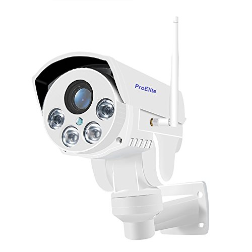 ProElite POD04 PTZ WiFi Wireless HD Outdoor Waterproof 4X Optical Zoom 960p IP Security Camera CCTV...