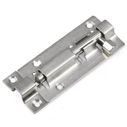 TRIXES 75 mm Türriegel für Badezimmer, Toilette, Schuppen, Schlafzimmer, Schnappriegel, einfache Montage
