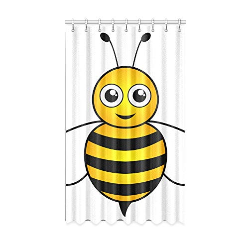 N\A Rideaux de fenêtre pour Filles Hardworking Honest Brave Little Bee Farm Rideaux occultants 50 X 84 Pouces Une pièce pour Patio Coulissant Porte en Verre/Chambre à Coucher