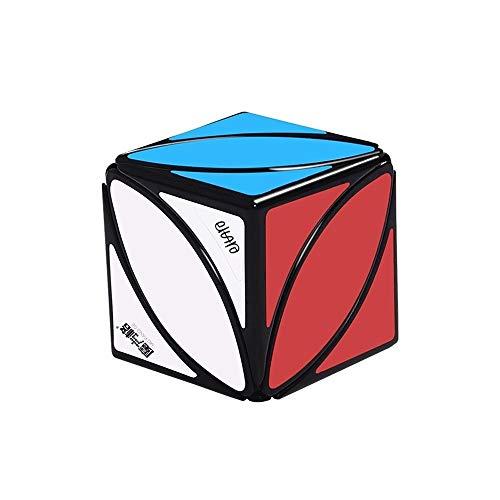 Modelo De La Hoja De Arce Creativo Cubo Mágico Juego Específico Puzzle Cubo Estrés Estudiante Mitigador Entretenimiento Velocidad Cubo De Plástico ABS Mágico Juego De Puzzle Juguete For Las